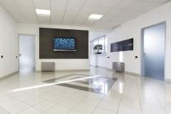 Porte Henry glass in azienda Jacuzzi di Valvasone (PN)
