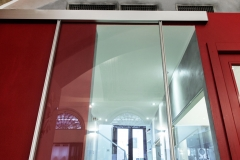 Porte Henry glass nel Ristorante Ego di Trieste