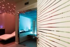 Porte Henry glass nel centro benessere Donna Lucia a Ponzano (TV)