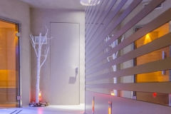 Porte Henry glass nel centro benessere Mirabel a Grado (UD)