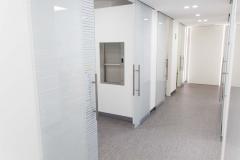 Porte Henry glass in studio Dentistico a Trento